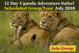 12 Day Uganda Safari scheduled