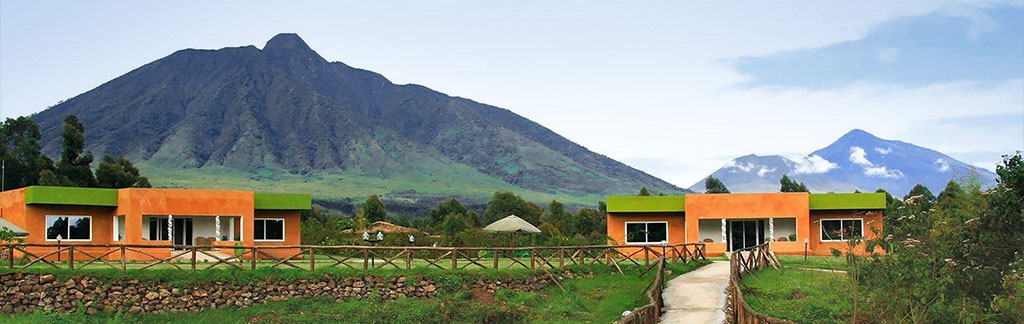 Mountain Gorilla View Lodge in Rwanda - Volcanoes national park