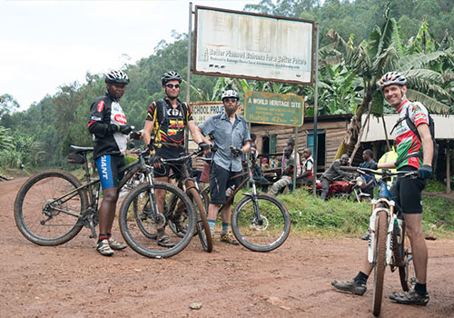 Cyclying Bwindi